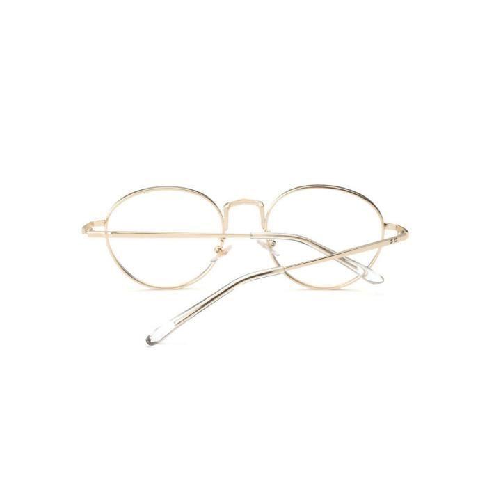 cd-9009 Hommes Femmes Lunettes lentilles claires lunettes métalFrame Myopie Lunettes  Lunettes or 55c7f61ae1a0