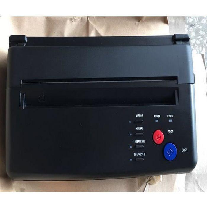 COPIEUR THERMIQUE Machine de Transfert de Pochoir Copieur Thermique