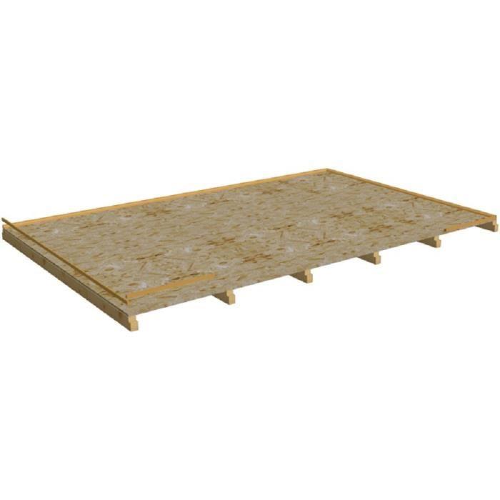 vente chaude en ligne 28df4 5f2bf Habrita Foresta - Plancher pour abri ép.12 mm - PL4050