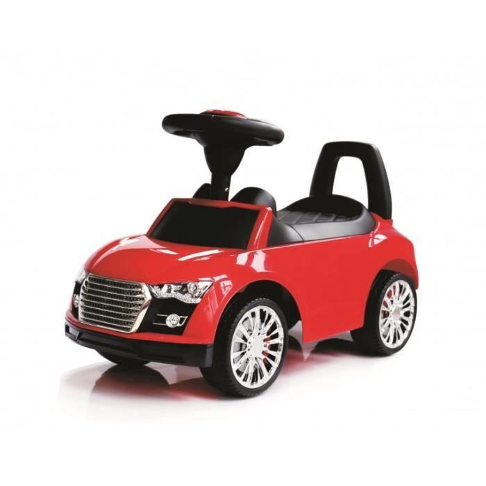 porteur petite voiture pousseur b b rouge blanc bleu avec la musique et la corne auto rot. Black Bedroom Furniture Sets. Home Design Ideas