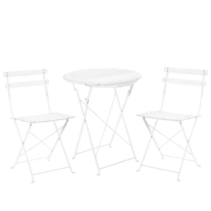 SALON DE JARDIN CasaproR Kit De Bistro Set Table