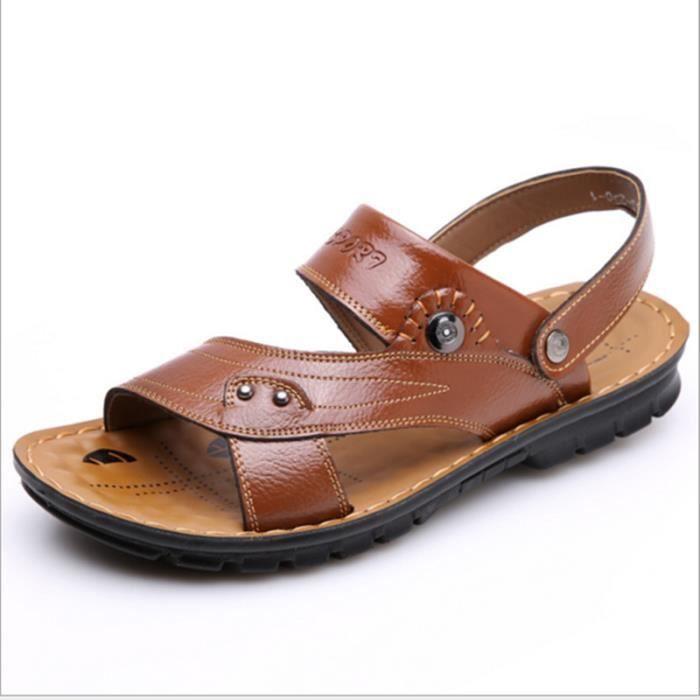 2016 printemps nouvelles sandales en cuir sanda...