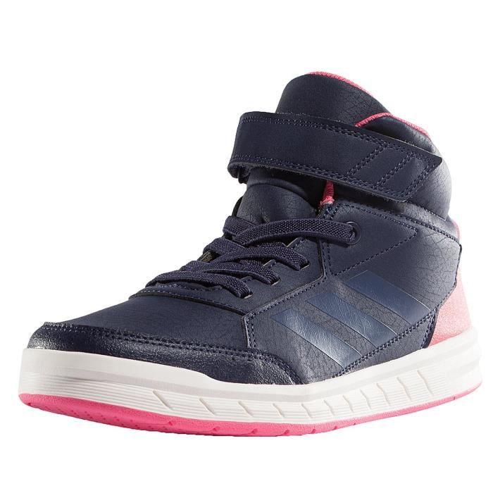 Baskets Bleu Sport Alta Femme Adidas Chaussures Mid EYvwqF