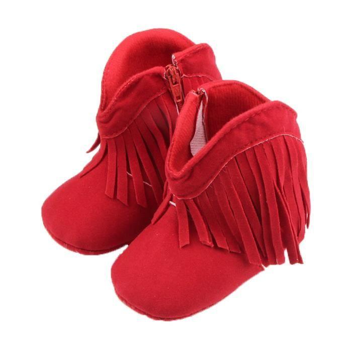 BIGOOD Mignon Premiers Pas Chaussure avec Franges Bébé en Coton 5xjpu4Zk