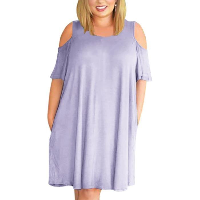 Robe de femmes O cou Robe Vintage Patchwork Solide Couleur Comfy Robe élégante 10002894