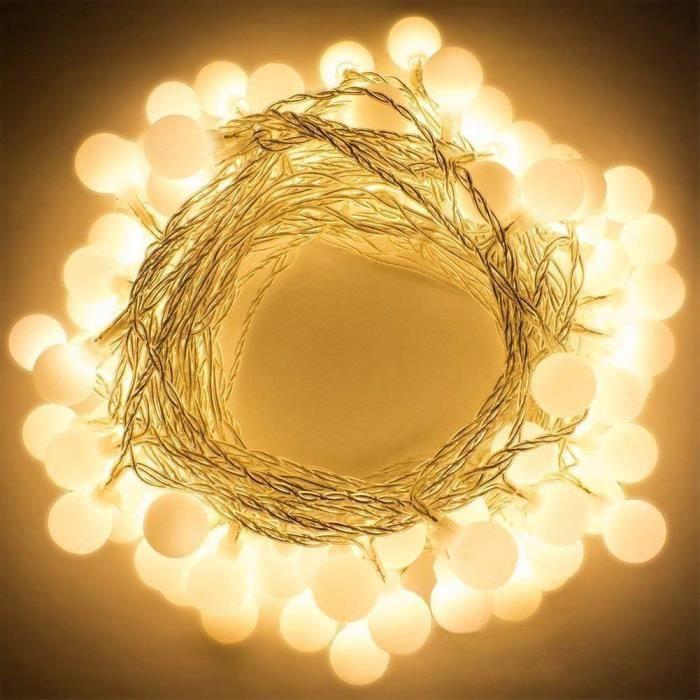 Pour Piles Fête Lumineuse Boules Petits Guirlande 4m Blanc Led Noël Soirée Party Décoration Anniversaire Mariage Romantique Chaud À xUBIw7qPw