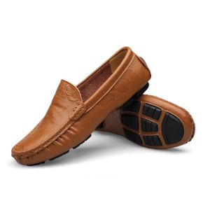 Mocassin Hommes Mode Chaussures Grande Taille Chaussures BBDG-XZ73Bleu39 BTHtHcOII