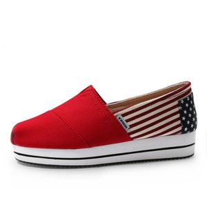 Mocassin Femmes Mode Loafer Detente Classique Chaussures WYS-XZ088Rouge36 M7W7o4foyD