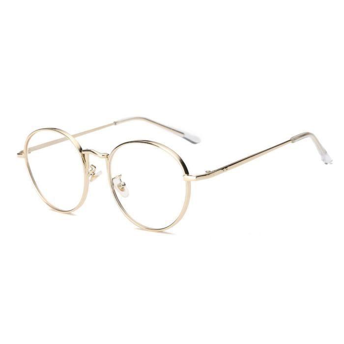 cd-9009 Hommes Femmes Lunettes lentilles claires lunettes métalFrame Myopie Lunettes  Lunettes or ... a05a1659e233