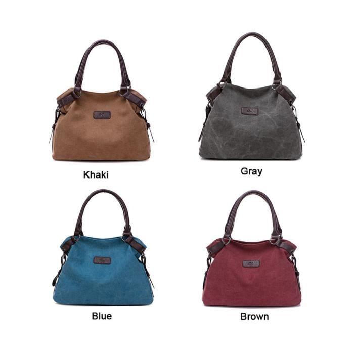 b1087659c029 ... sac à main Marques de luxe femmes Messenge grande capacité Designer Femmes  Sac en toile de