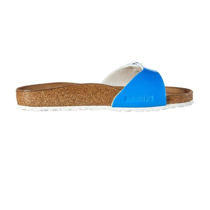 Mules Madrid W Neon Blue e16 - Birkenstock