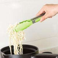 USTENSILE Salade de cuisson Cuisine silicone service tenaill