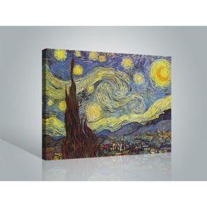 TABLEAU - TOILE Vincent Van Gogh Poster Reproduction Sur Toile, Te