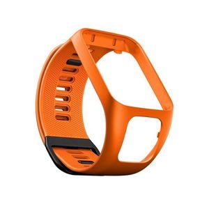 BRACELET DE MONTRE Bracelet de remplacement en Silicone Orange compat