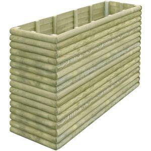 Jardini re en bois achat vente jardini re en bois pas cher soldes d s le 10 janvier cdiscount - Jardiniere bois pas cher ...