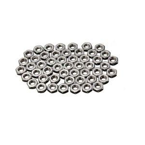 FEUILLE METALLIQUE 100pcs M3 3mm Vis Hexagonale en acier inoxydable é
