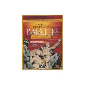 DVD FILM Coffret 5 DVD Un siècle de grandes batailles : Ret