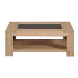 Table Basse Design Chene Clair Roc Achat Vente Table Basse Table