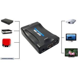 REPARTITEUR TV EMEBAY - Convertisseur Péritel vers HDMI Adaptateu