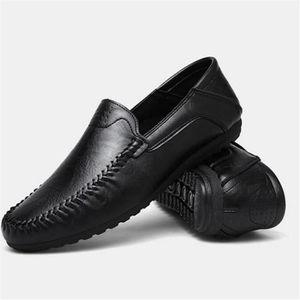CHAUSSURES DE RANDONNÉE Pum Chaussures homme Cuir nouvelle moccasin Antidé