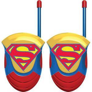 TALKIE-WALKIE JOUET SUPER HERO GIRLS Talkie walkie enfant