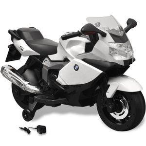 MOTO - SCOOTER Moto électrique BMW 283 blanc 6 V pour enfant