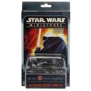 CARTE A COLLECTIONNER Star Wars Miniatures Starter Set [Jouet].