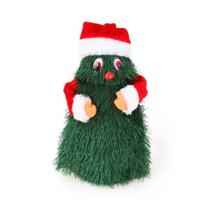 Personnage de Noël Père Noël en costume à pile 21cm