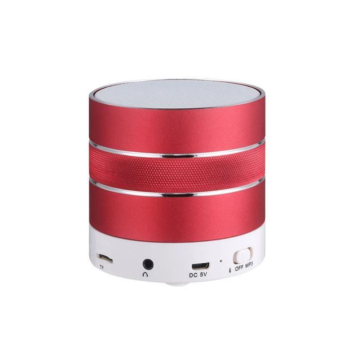 Portable Mini Tf Stéréo Sans Fil Bluetooth Haut-parleur Pour Iphone Tablet Pc Fm @exq410