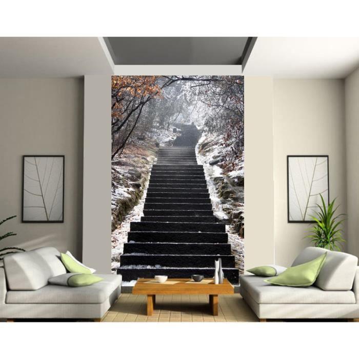 Papier peint grande largeur Escalier Dimension    Achat / Vente