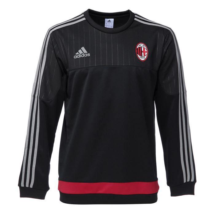 adidas AC Milan d'entraînement Polo 20142015, Homme, noir