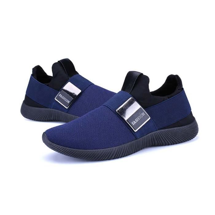 Basket Homme Chaussures Sport Masculines Respirante Anti-dérapant Chaussures