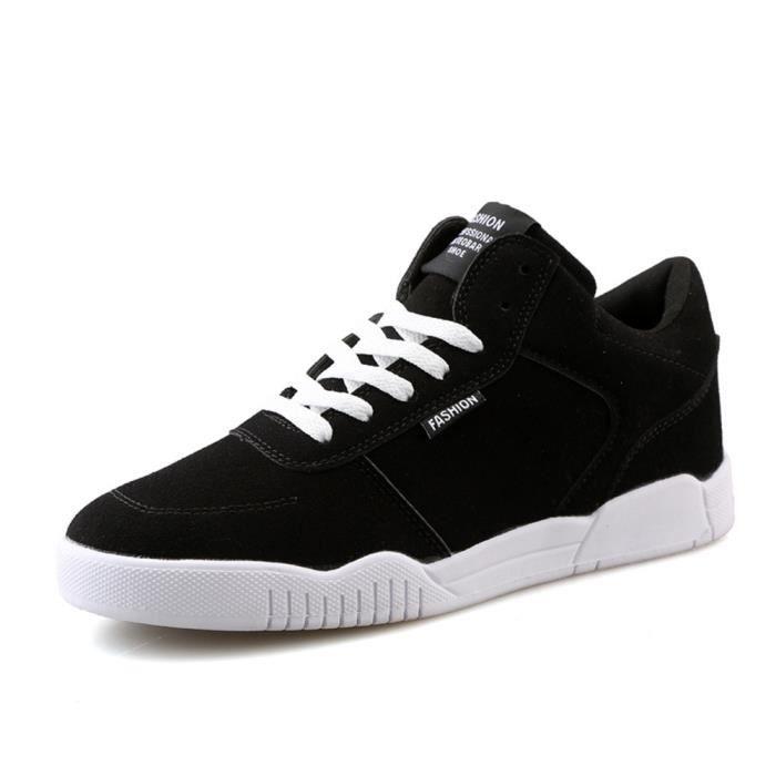 chaussure homme Skateboarding les souliers montants de plein air Baskets Confortable Durable Marque De Luxe Grande Taille