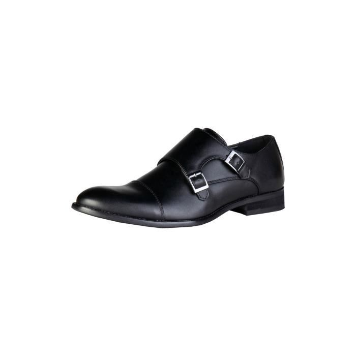 Chaussures Enzo Marconi noires Casual homme GhJYuNdQ