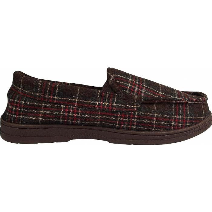 Perry Ellis Twin-stretch Slippers KMYUF Taille-L