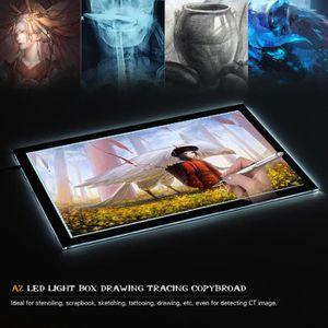 TABLETTE GRAPHIQUE Aibecy Fleiz A2 LED Panneau d'Eclairage Portable,