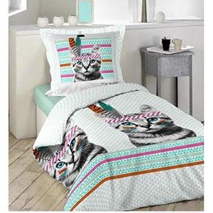 housse couette ado achat vente housse couette ado pas cher soldes d s le 10 janvier cdiscount. Black Bedroom Furniture Sets. Home Design Ideas