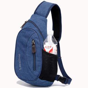 SACOCHE sac en toile de mode sac à bandoulière occasionnel