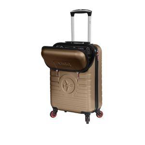 VALISE - BAGAGE Valise cabine rigide poche extérieure multimédia E