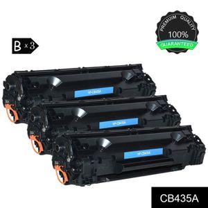 TONER Toner 3x Noir HP CB435A/CB436A/CE285A Compatible p