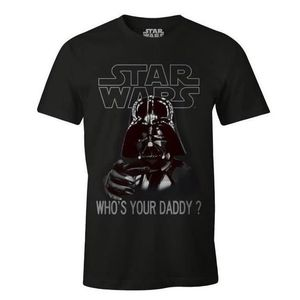 T-SHIRT T-Shirt Adulte Star Wars Dark Vador : Who's your D