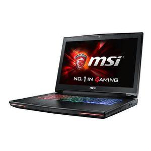 ORDINATEUR PORTABLE MSI PC Portable GT72S 6QE-858FR - 17,3