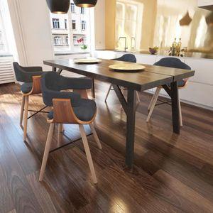 CHAISE Chaise de salle à manger cuisine Contemporain 4 pc