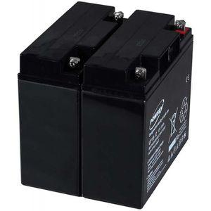 BATTERIE VÉHICULE Batterie gel-plomb Powery pour USV APC RBC7 12V 18
