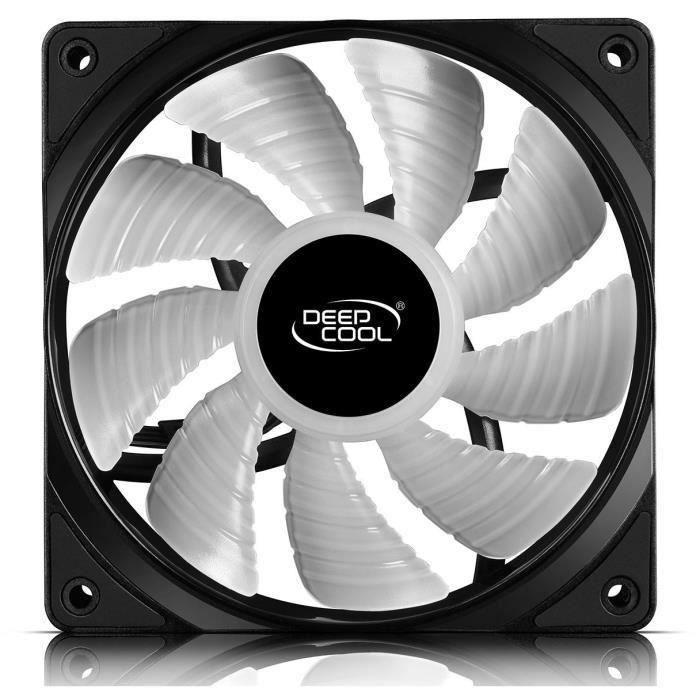 DEEPCOOL RF120M - Ventilateur pour boîtier - 12cm RGB - Pack de 5