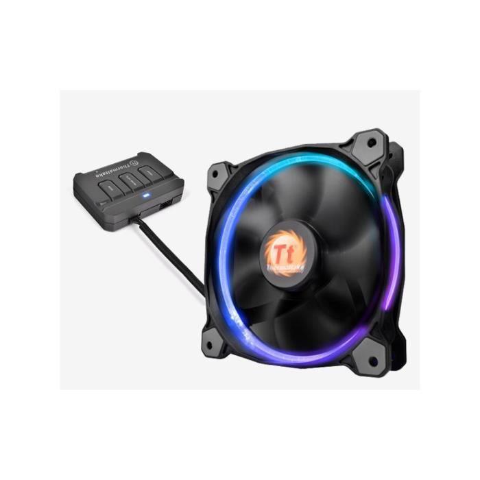 Thermaltake Ventilateur pour boitier Riing RGB 256 couleurs 14cm