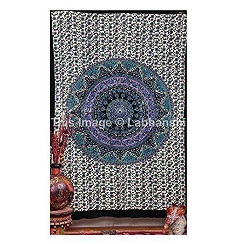 Mandala Tapisseries M R Hippie Tapisserie Boh Me Tapisseries Murales Indiennes Pour Dortoirs