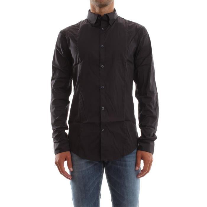 ARMANI JEANS CHEMISE homme Blu - Achat   Vente chemise - chemisette ... aad8c6b769