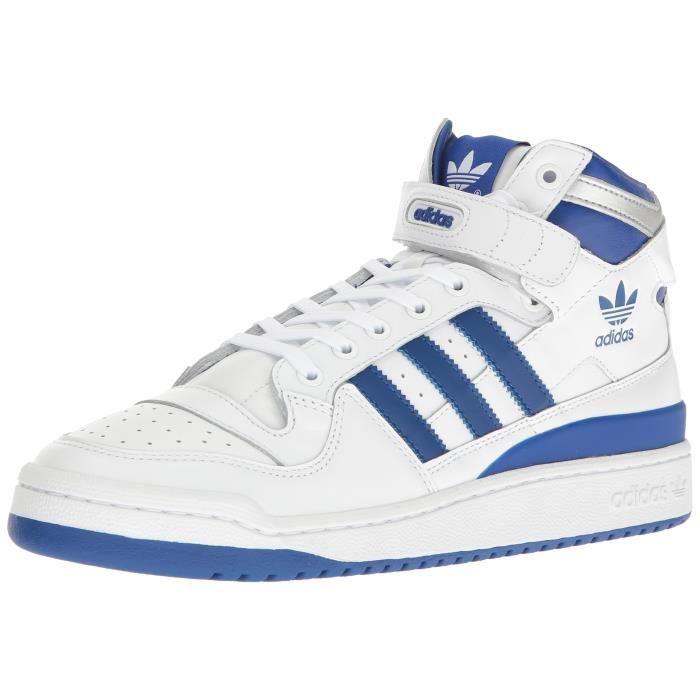 fbee303808f69 Adidas Originals Forum Mid raffiné Chaussures Mode JEQUV Taille-40 1 ...