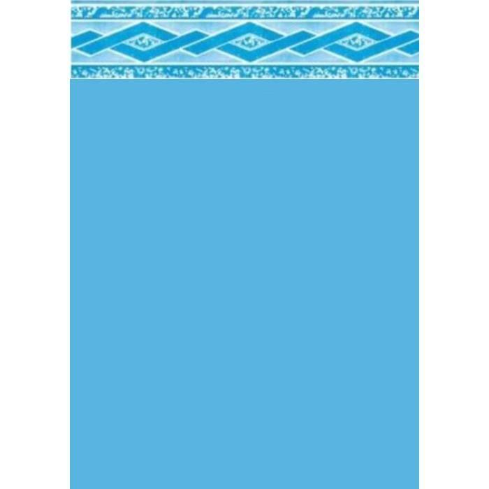 coque liner liner piscine 75100 bleu fonc frise florentine - Liner Piscine Hors Sol Ronde 75 100